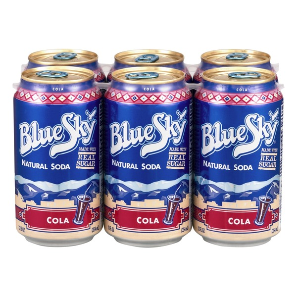 Blue Sky Natural Soda Cola