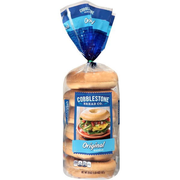 Cobblestone Mill Original Bagels