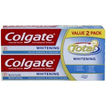 Colgate Total Whitening Paste Toothpaste Twin Pack - 12 oz