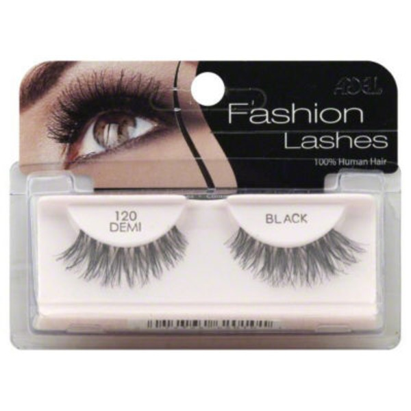 Ardell Human Hair Fashion Lashes 120 Demi Black