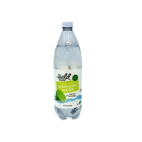 Field Day Sparkling Lime Water