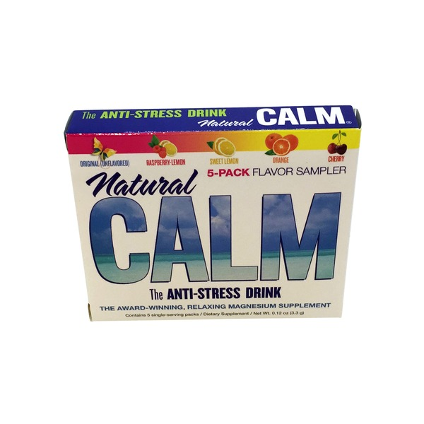Natural Calm Anti-Stress Drink Assorted Flavor Packets