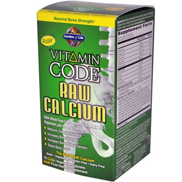 Garden of Life Vitamin Code Raw Calcium Supplement