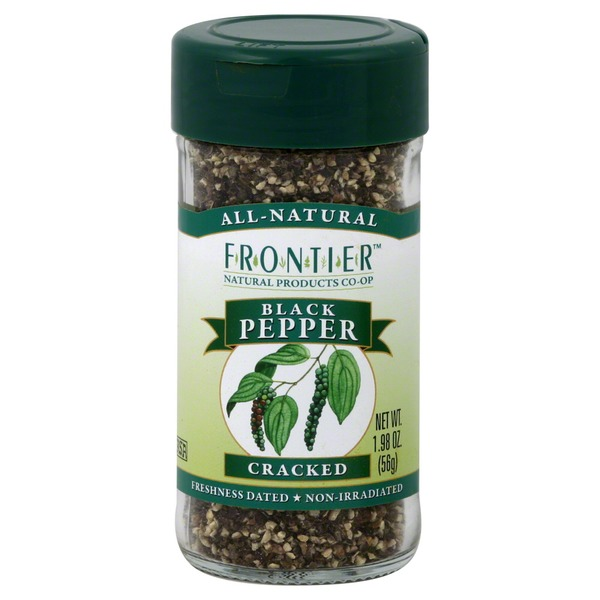Frontier Black Pepper, Cracked
