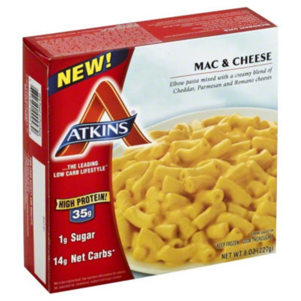 Atkins Mac & Cheese Entree