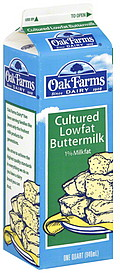 Oak Farms Cultered Lowfat Buttermilk