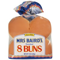 Mrs. Baird's Hamburger Buns 8 Ct