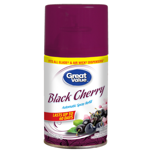 Great Value Metered Air Refreshener Black Cherry