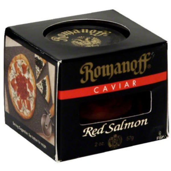 Romanoff Red Salmon Caviar