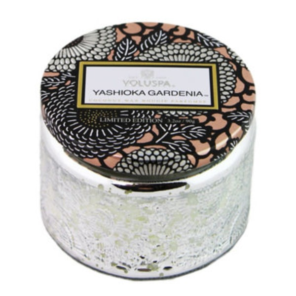 Voluspa Small Glass Candle Yashioka Gardenia