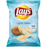 Lay's Lightly Salted Potato Chips, 7.75 oz. Bag