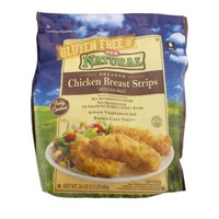 H-E-B Natural Fully Cooked Breaded Chicken Breast Strips
