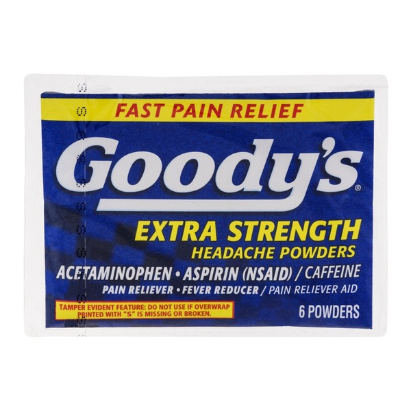 Goody's Extra Strength Headache Powders - 6 CT