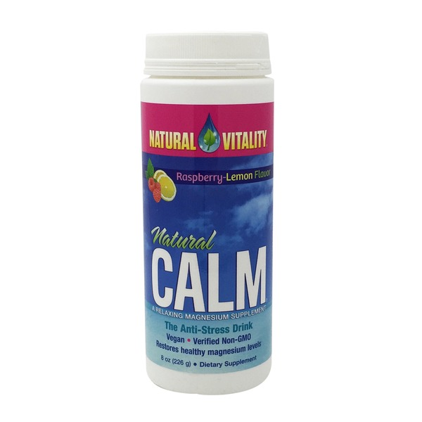 Natural Vitality Natural Calm Lemon Raspberry
