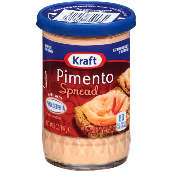 Kraft Cheese Spreads Pimento Cheese Spread