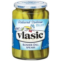 Vlasic Kosher Reduced Sodium Kosher Dill Spears