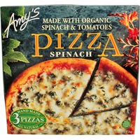 Amy's Made With Organic Spinach & Tomatoes Pizza Spinach