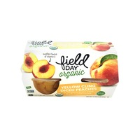 Field Day Organic Diced Peaches