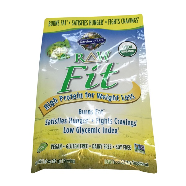 Garden of Life Organic Raw Fit High Protein for Weight Loss