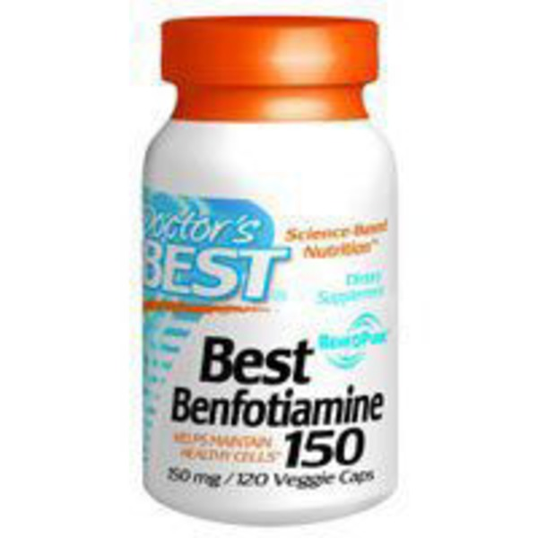 Doctor's Best Best Benfotiamine 150 Mg