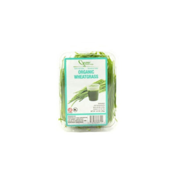 Green Valley Food Corp Organic Wheatgrass Sprouts