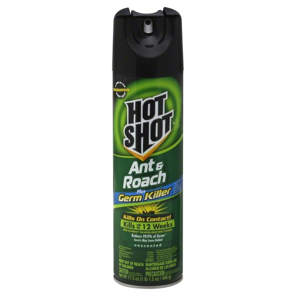 Hot Shot Unscented Ant & Roach Killer