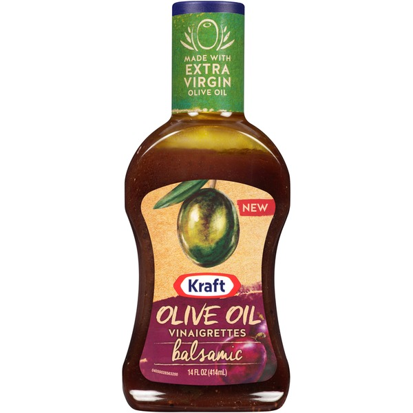 Kraft Salad Dressing Olive Oil Vinaigrettes Balsamic Dressing
