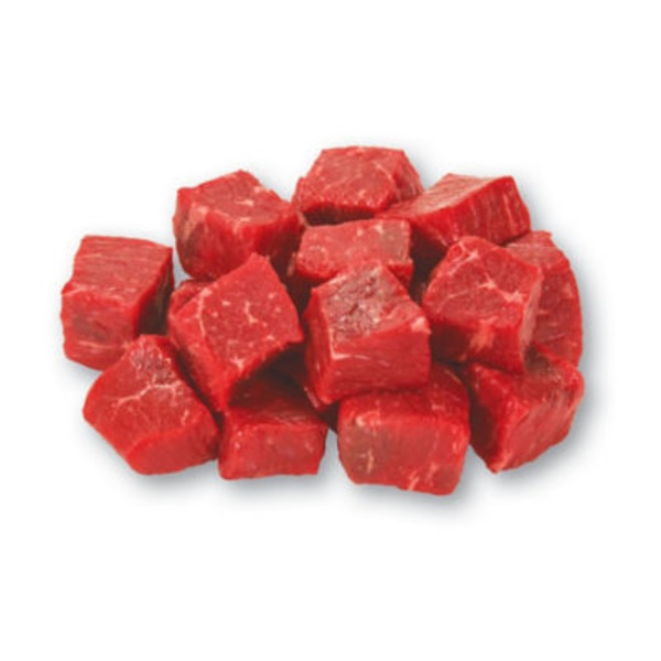 Fresh Natural Angus Extra Lean Beef Stew Meat