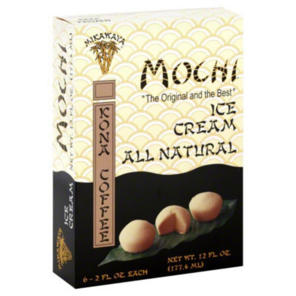 Mochi Ice Cream, Kona Coffee