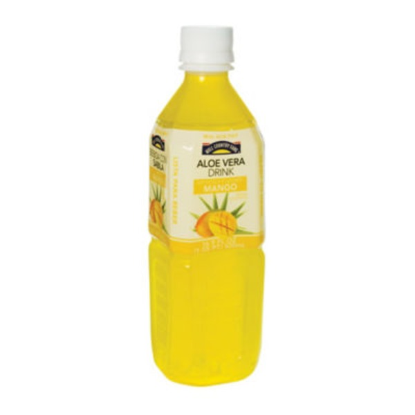 Hill Country Fare Aloe Mango Drink