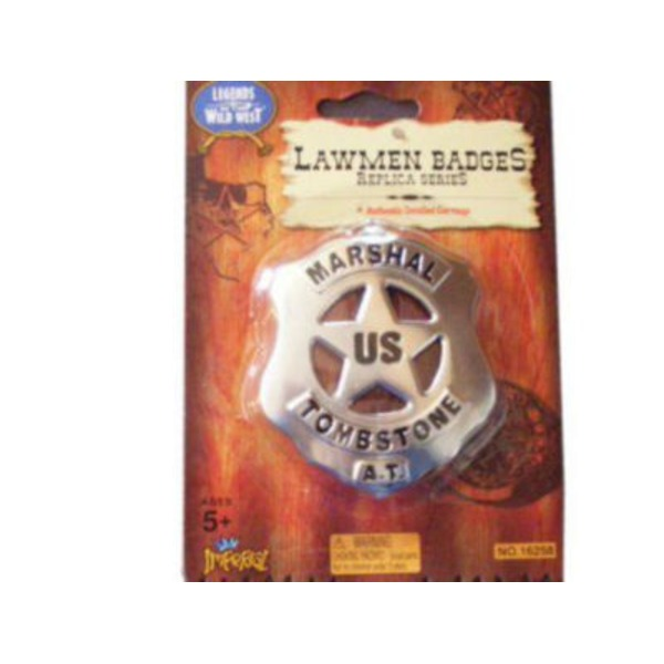 Imperial Toy Legends Of The Wild West Lawmen Badge