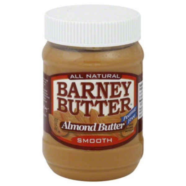 Barney Almond Butter, Smooth, Gluten Free, Jar