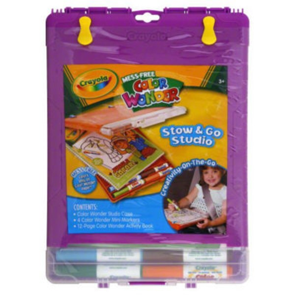 Crayola Color Wonder Color & Go Mess Free Coloring