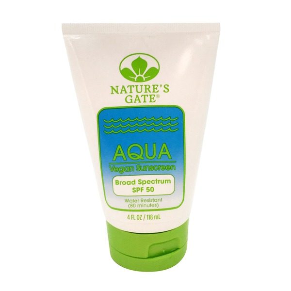 Nature's Gate Aqua Vegan Sunscreen SPF 50