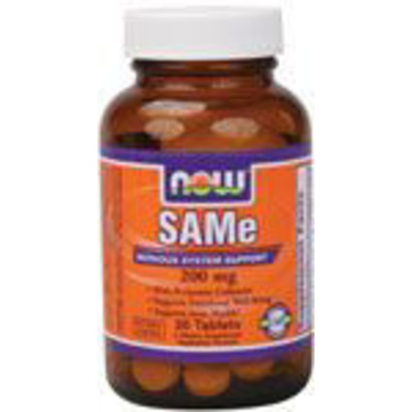 Now SAMe 200 Mg With Vitamin B Co-Factors Tablets