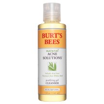 Burt's Bees Natural Acne Solutions Purifying Gel Cleanser, 5 oz
