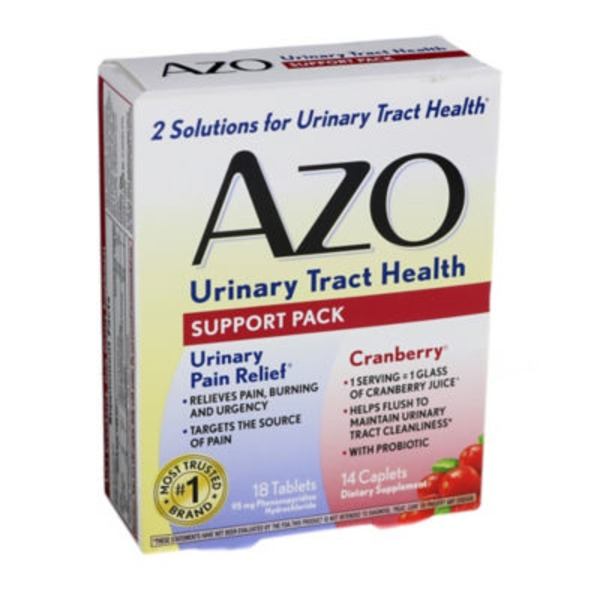 Azo Urinary Tract Health Support Pack Dietary Supplements