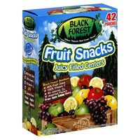 Black Forest Fruit Snacks, Juicy Filled Centers, Assorted Flavors