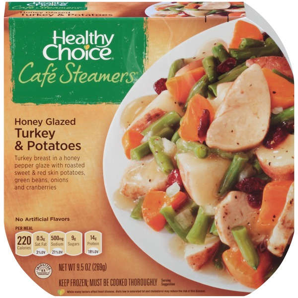 Healthy Choice Top Chef Honey Glazed Turkey & Potatoes Cafe Steamers