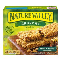 Nature Valley™ Crunchy Granola Bar Oats 'n Honey 1.49 oz 6/2-Bar Pouches 12 ct Box, 1.49 OZ