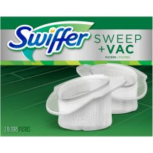 Swiffer Vacuum Supply Sweeper and Vac Replacement Filter, 2 ct