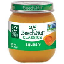 Beech-Nut Stage 2 Butternut Squash Baby Food, 4 oz