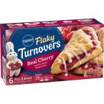 Pillsbury Real Cherry Flaky Turnovers, 6 Ct, 12 oz, 12.0 OZ