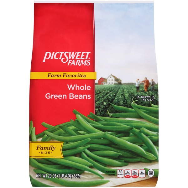 Pictsweet Farms Farm Favorites Whole Green Beans