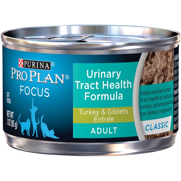 Pro Plan Cat Wet Focus Adult Urinary Tract Health Formula Turkey & Giblets Entree Cat Food