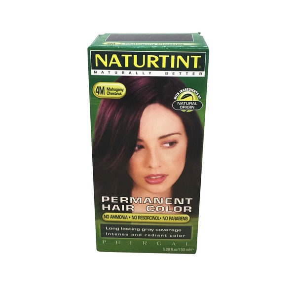 Naturtint Permanent Hair Color, Mahogany Chestnut 4M