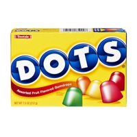 Dots Tootsie Dots Assorted Fruit Flavored Gumdrops