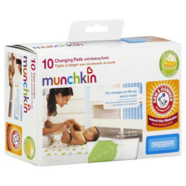 Munchkin Arm & Hammer by Munchkin 10pk Disposable Changing