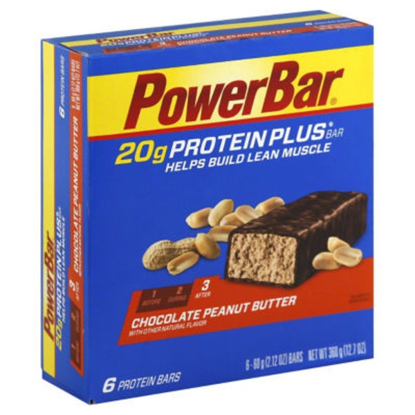 PowerBar Chocolate Peanut Butter Protein Bars