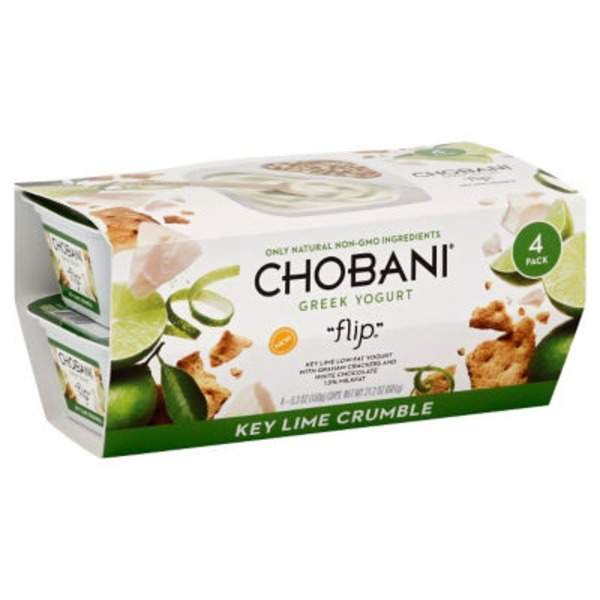 Chobani Key Lime Crumble Low-Fat Greek Yogurt